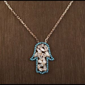 COMING SOON💎Hamsa Hand turquoise Necklace